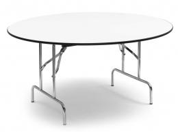 Mesa comedor plegable redonda