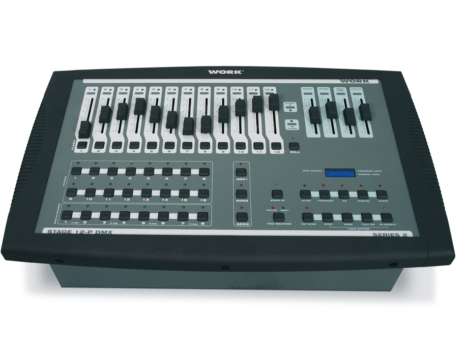 CONSOLA Y DIMMER WORK STAGE12 P DMX
